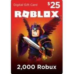 ROBLOX GiftCard 25 USD