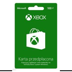 MICROSOFT XBOX 100PLN