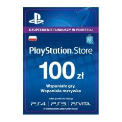 Sony PSN 100PLN