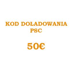 PSC CODE 50 EUR