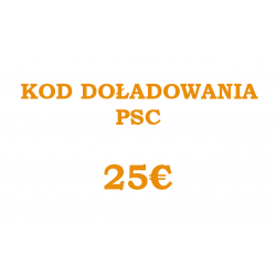 PSC CODE 25 EUR
