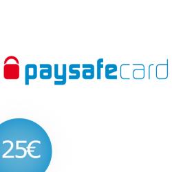 PAYSAFECARD 25 EUR DE